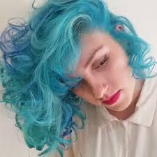 Colorful Hair Dye Ideas With Crazy Color Blue Jade Hair Colors Ideas