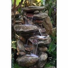 Indoor Rock Garden - unbranded waterfall indoor fountains ebay
