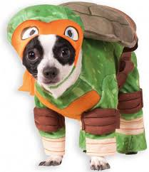 Halloween Pet Costume Teenage Mutant Ninja Turtles Michelangelo Halloween Pet Costume