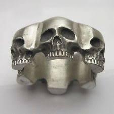 skull wedding bands biker wedding rings ebay