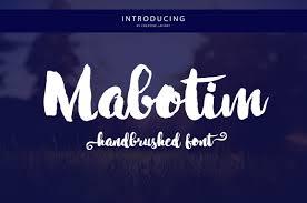 ahattom script script fonts creative market