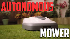 honda miimo autonomous lawn mower autoblog minute autoblog