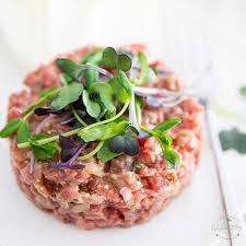 tartare cuisine beef tartare the healthy foodie