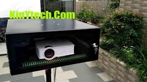 weatherproof projector enclosure deertv weather proof projector