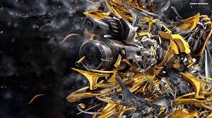 bumblebee transformers 4 face wallpaper