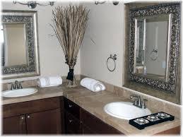 bathrooms marvelous bathroom mirrors on black framed mirror