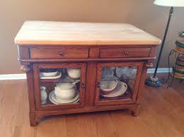 Lexington Bob Timberlake Oak Butcher Block Kitchen Island Rare