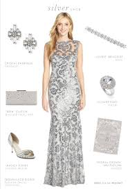 silver dresses for a wedding silver lace gown silver gray lace dress for a wedding