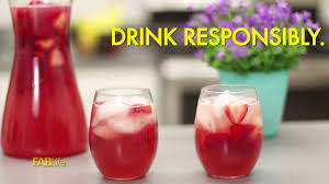 must try strawberry sangria youtube