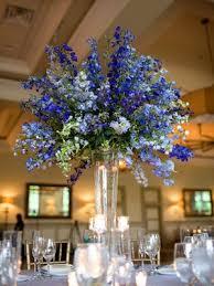 blue centerpieces blue flowers for wedding centerpieces best 25 blue flower
