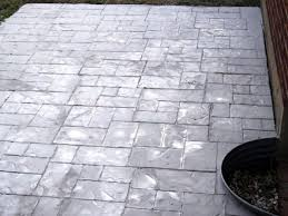 Tiling A Concrete Patio by Enhance An Existing Patio With Concrete Stamping Hgtv