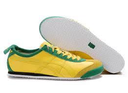 onitsuka tiger mexico 66 lauta shoes yellow green black