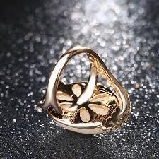 long rings design images Rose gold color rings blue long elliptic engagement rings for jpg