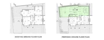 ground floor extension plans single storey extension residential planning application drawing