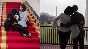 White House Tours Obama by Michelle Obama Says Goodbye To The White House In Touching Social