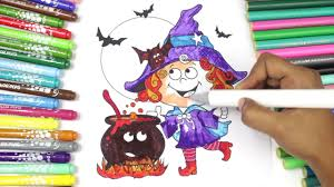 coloring pages for kids how to color halloween coloring pages