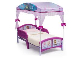 Toddler Bed With Canopy Frozen Toddler Canopy Bed Delta Children