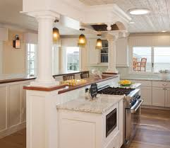 Contemporary Cornices Wainscot Backsplash Kitchen Beach Style With Cornices Moldings