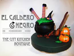 halloween fondant cakes como hacer el caldero negro how to make the black cauldron