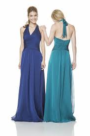 royal blue chiffon bridesmaid dresses halter open back royal blue chiffon wedding guest bridesmaid