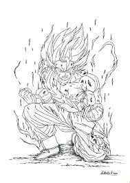 dragon ball pictures coloring pages gt sheets kai print