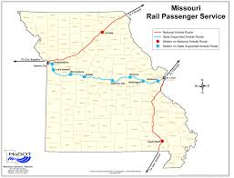 Amtrak Map Schedule by Missouri River Runner