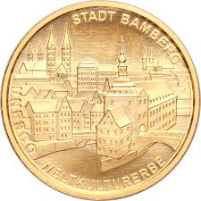 Bamberg Germany Map by 100 Euro Bamberg Germany Federal Republic U2013 Numista