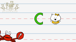 Abc Worksheets For Toddlers Write The Letter C Alphabet Writing Lesson For Children The