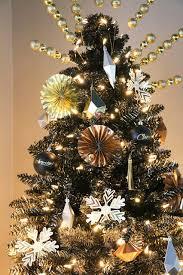 black gold ombre tree treetopia