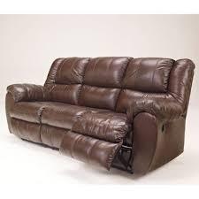 mcadams brown reclining sofa w power reclining sofas living