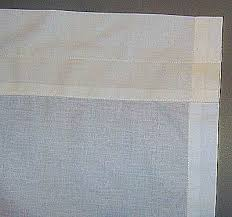 free pattern for curtain panels and curtain valance