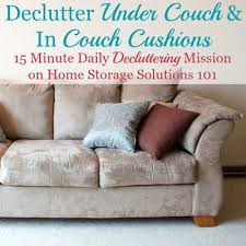 Under Sofa Storage by Clean U0026 Declutter Under Couch U0026 Between Couch Cushions