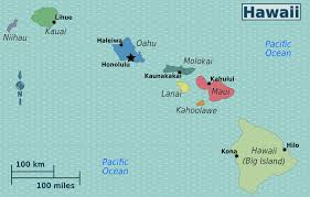 Hawaiian Airlines Route Map by Hawaiian Airlines Route Map For Hawaii On Map Roundtripticket Me
