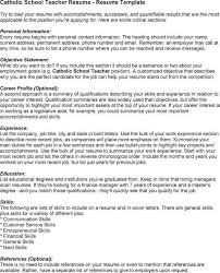 How To List References On Your Resume Catholic Teachers Cover Letter 13 Best Teacher Cover