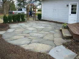 Front Patio Design Landscaping With Patio Stones Rustic Patio Outdoor Living