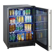 glass door beverage refrigerator i67 in easylovely home design