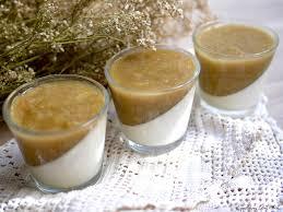 cuisine rhubarbe panna cotta à la vanille et compotée de rhubarbe équilibres des sens