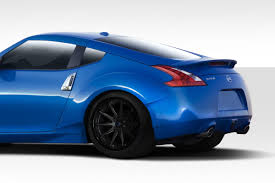 nissan 370z custom body kit 09 13 fits nissan 370z circuit duraflex 75mm rear fender flares