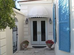 Fabric Door Awnings Residential Fabric Canopies For Retractable Patio U0026 Deck Awnings