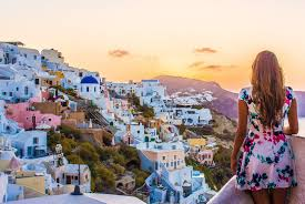 the best in the world santorini greece suitcase and i