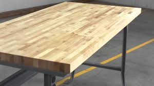relius solutions hardwood butcher block tops by john boos youtube