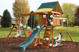 Wood Backyard Playsets by Products Big Backyard Play Set