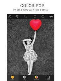 color pop effects photo editor app store