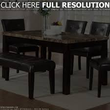 chair dining room rustic wooden table for elegant farmhouse round