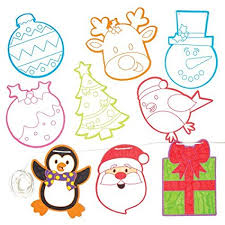 make your own hanging l amazon com christmas color in bunting for children to make decorate