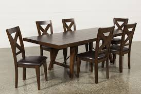 malcolm 7 piece extension dining set living spaces