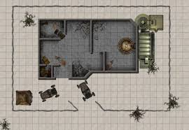Fallout Vault Map by Dundjinni Mapping Software Forums Post Apocalyptic Ruined Vault