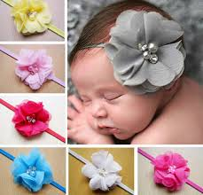 hair accessories for kids z89254a baby hair accessories kids artificial flowers hair elastic