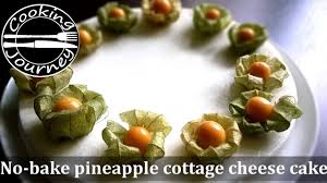 Cottage Cheese Cheese Cake by Pineapple Cottage Cheese Cake Without Oven Youtube
