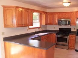 Kitchen Brown Kitchen Cabinets Brown Wooden Flooring Stainless